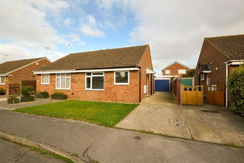2 Bedrooms Bungalow for sale in Moorhen Way, North Bersted, Bognor Regis, West Sussex, PO22 9DA