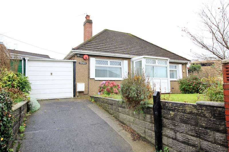 2 Bedrooms Detached Bungalow for sale in Lon Maes Yr Haf, Oakdale, Newport, NP11