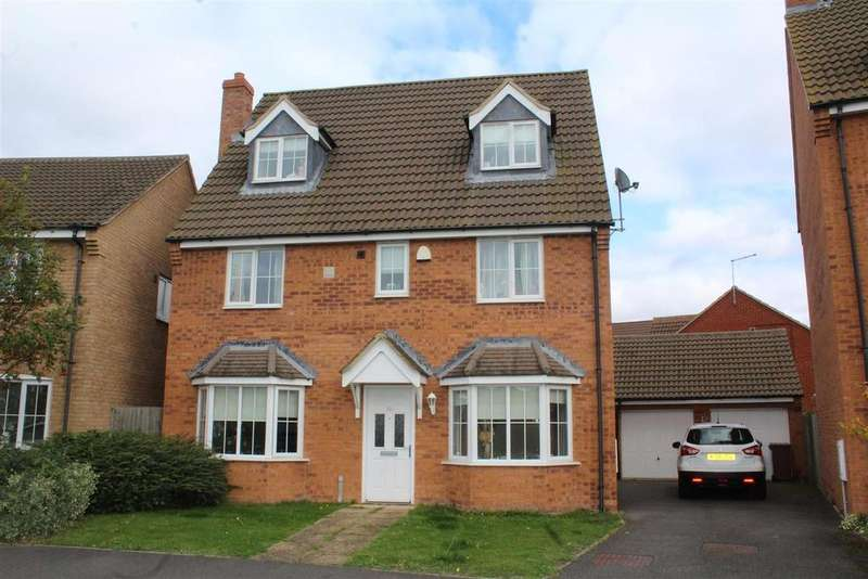 5 Bedrooms Detached House for sale in Shore View, Hampton Hargate, Peterborough