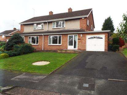 3 Bedrooms Semi Detached House for sale in Cheviot Rise, Hednesford, Cannock, Staffordshire