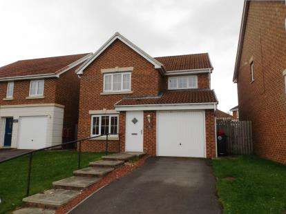 4 Bedrooms Detached House for sale in Chestnut Drive, Darlington