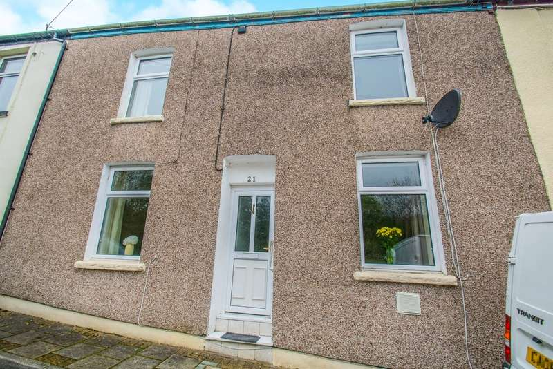 2 Bedrooms Terraced House for sale in Colliers Row, Tirphil, NEW TREDEGAR