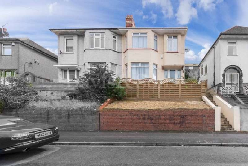 3 Bedrooms Semi Detached House for sale in East Grove Road, Off Chepstow Road, Newport. NP19 9QG