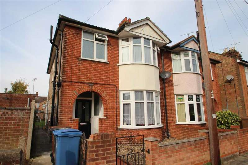 3 Bedrooms Semi Detached House for sale in Schreiber Road, Ipswich