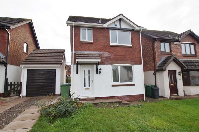 3 Bedrooms Detached House for sale in CA13 9BU Gable Avenue, Cockermouth, Cumbria