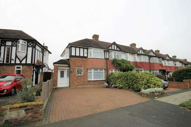 3 Bedrooms End Of Terrace House for sale in Aragon Road, Morden