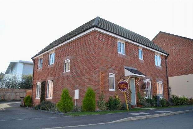 3 Bedrooms Detached House for sale in Damselfly Road, Dragonfly Meadows, Northampton NN4 9ET