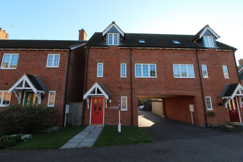 2 Bedrooms Semi Detached House for sale in Lovat Meadow Close, Newport Pagnell, Buckinghamshire