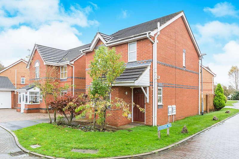 3 Bedrooms Detached House for sale in Goldcrest Drive, Bamber Bridge, Preston, PR5