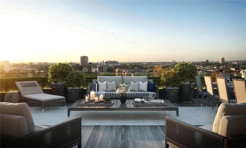 4 Bedrooms Flat for sale in Chelsea Island, Harbour Avenue, London, SW10
