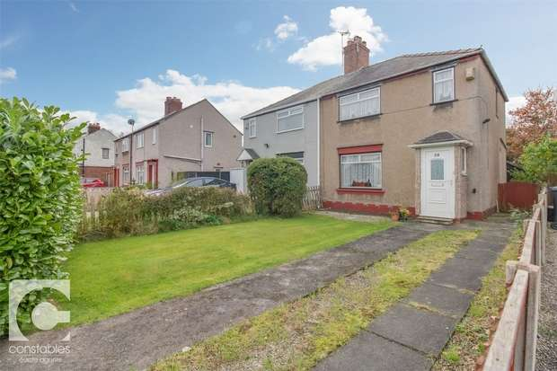 2 Bedrooms Semi Detached House for sale in Hawthorn Road, Little Sutton, Ellesmere Port, Cheshire