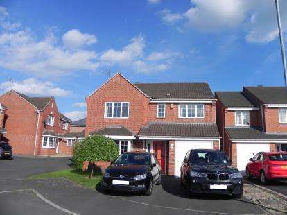 4 Bedrooms Detached House for sale in Pochins Bridge Road, Wigston, Leicestershire