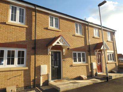 3 Bedrooms Terraced House for sale in Kilbride Way, Orton Northgate, Peterborough, Cambs