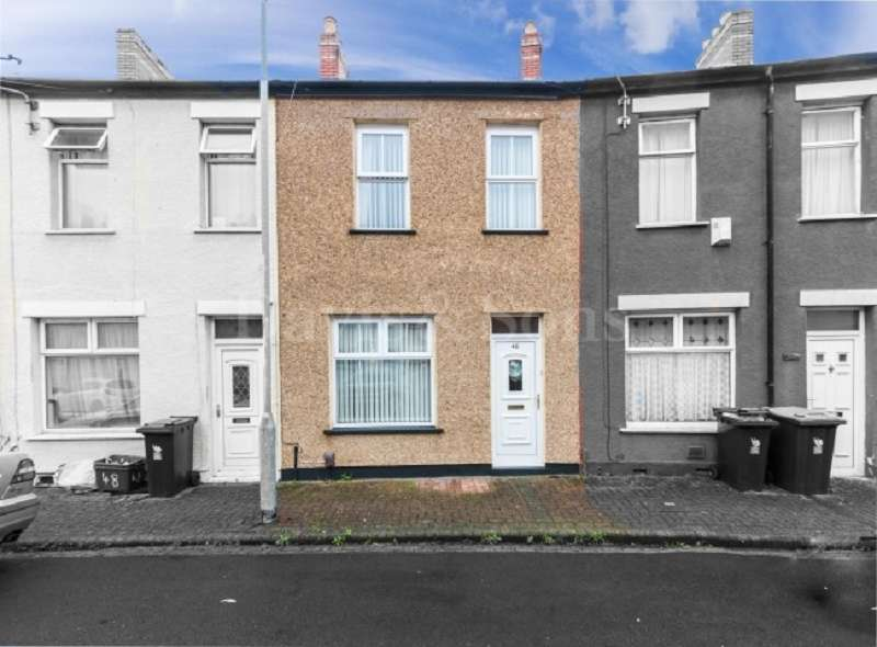 3 Bedrooms Terraced House for sale in Liscombe Street, Off Cromwell Road, Newport. NP19 0HQ