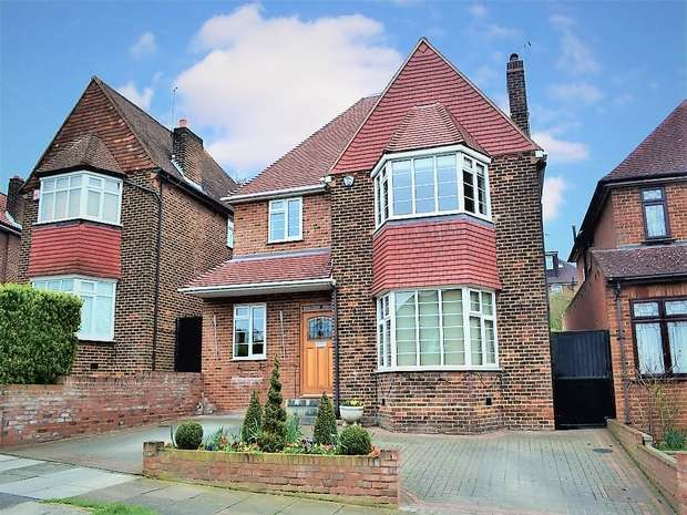 5 Bedrooms Detached House for sale in Sunnyfield, Mill Hill, NW7, London