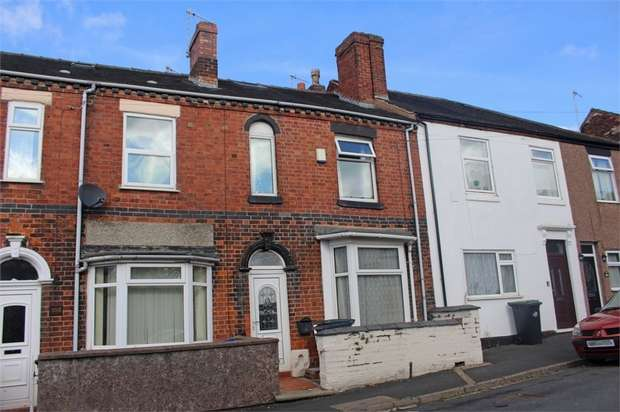 3 Bedrooms Terraced House for sale in Ainsworth Street, Stoke-on-Trent, Staffordshire