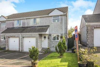 3 Bedrooms Semi Detached House for sale in St. Cleer, Liskeard, Cornwall