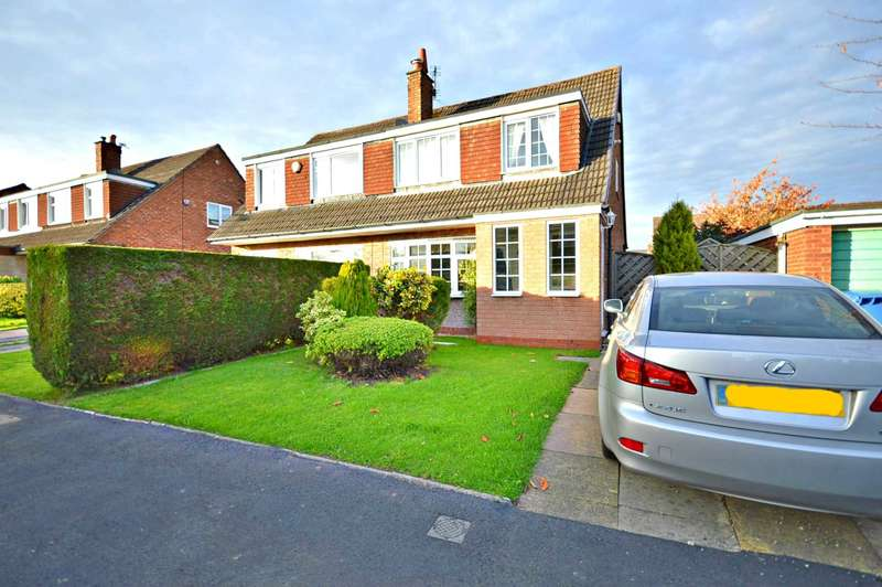 3 Bedrooms Semi Detached House for sale in Tewkesbury Close, Cheadle Hulme