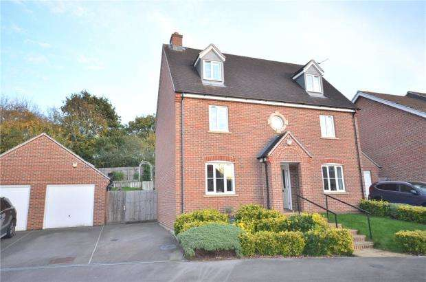 5 Bedrooms Detached House for sale in Crutchley Wood, Bracknell, Berkshire