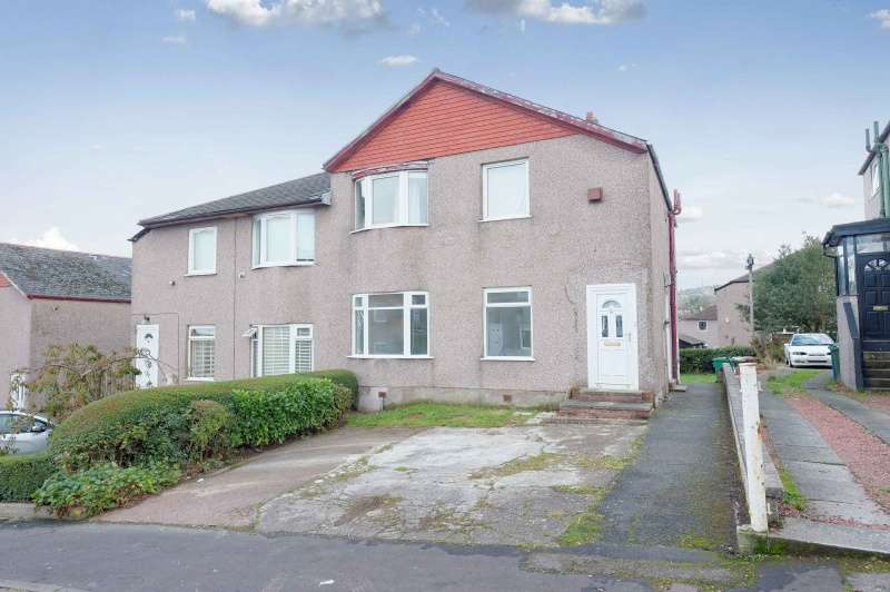 2 Bedrooms Flat for sale in Croftside Avenue, Croftfoot, Glasgow, G44 5NE