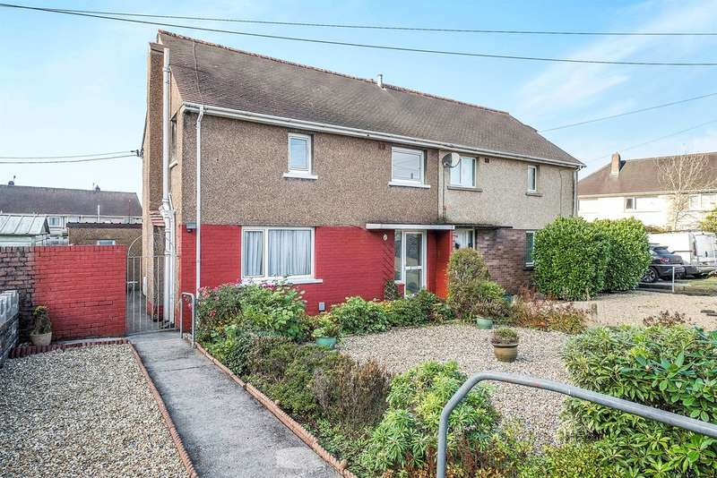 3 Bedrooms Semi Detached House for sale in Llys Wenallt, Tonna, Neath