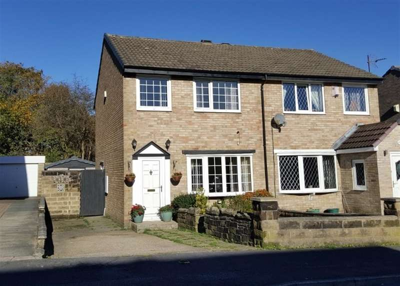 3 Bedrooms Semi Detached House for sale in Oakdale Close, Ovenden, Halifax, HX3 5RP
