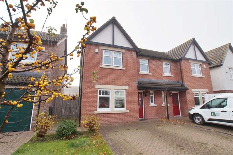 3 Bedrooms Semi Detached House for sale in CA2 7PR Osprey Close, Turnstone Park, Carlisle, Cumbria