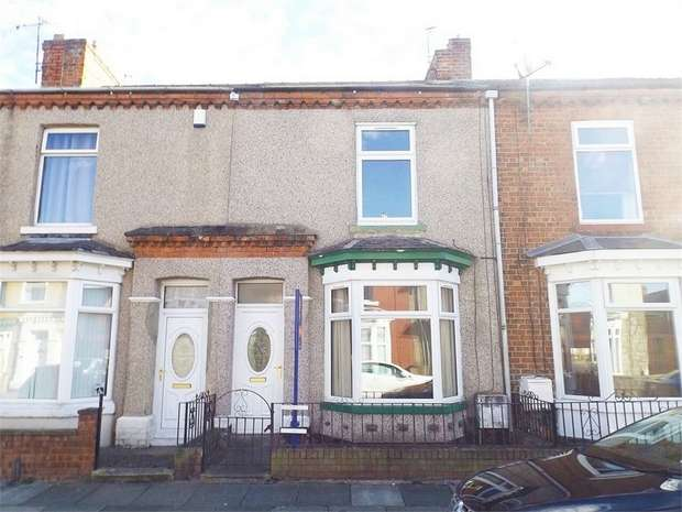 2 Bedrooms Terraced House for sale in Louisa Street, Darlington, Durham