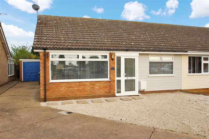 2 Bedrooms Semi Detached House for sale in Alberta Close, Kesgrave, Ipswich