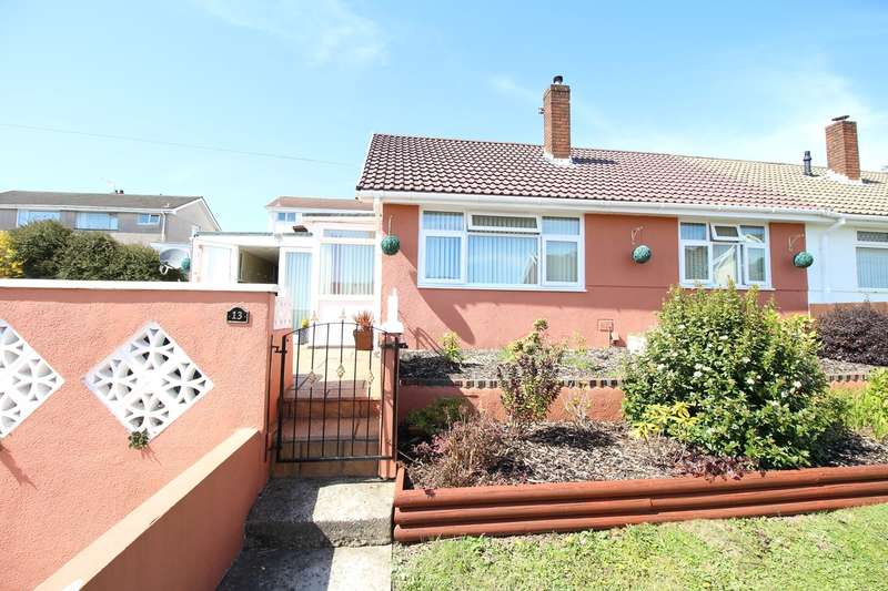 2 Bedrooms Semi Detached Bungalow for sale in Aberthaw Circle, Newport, NP19