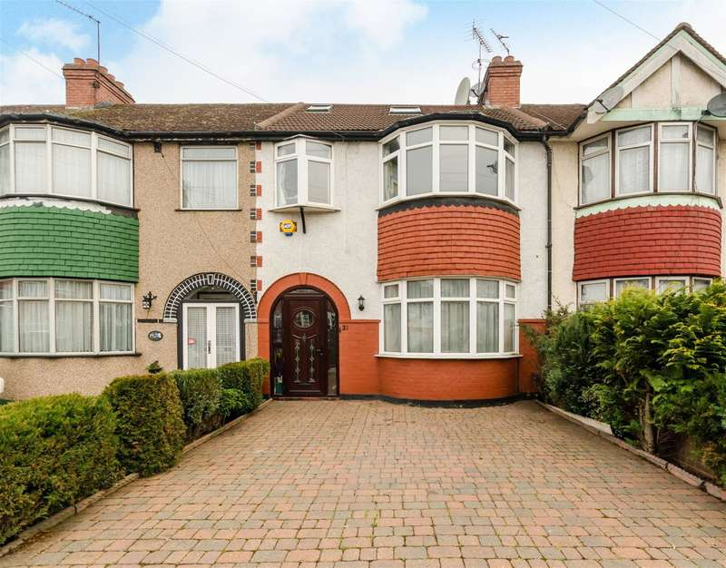 4 Bedrooms Terraced House for sale in Devon Close, Perivale, UB6 7DN