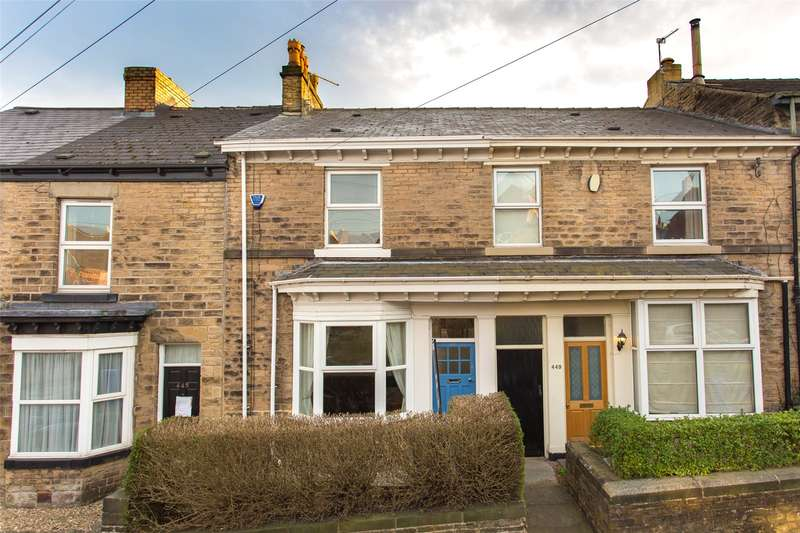 3 Bedrooms Terraced House for sale in Springvale Road, Crookes, Sheffield, S10