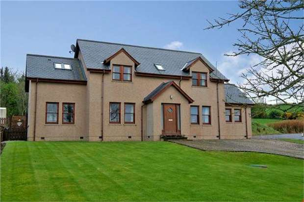 4 Bedrooms Detached House for sale in Chapelhill Row, Forgue, Huntly, Aberdeenshire