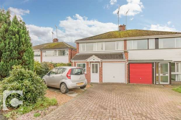 3 Bedrooms Semi Detached House for sale in Allans Meadow, Neston, Cheshire