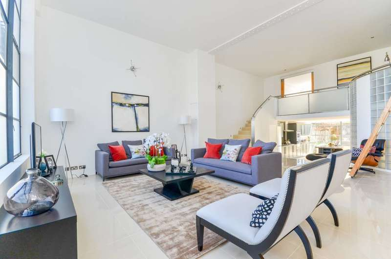 4 Bedrooms Flat for sale in Chiswick Green Studios, Chiswick, W4