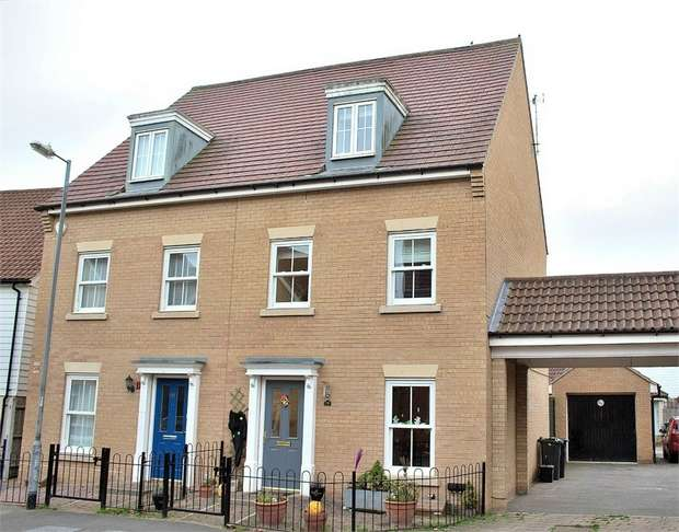 4 Bedrooms Semi Detached House for sale in Flitch Green, Dunmow, Essex