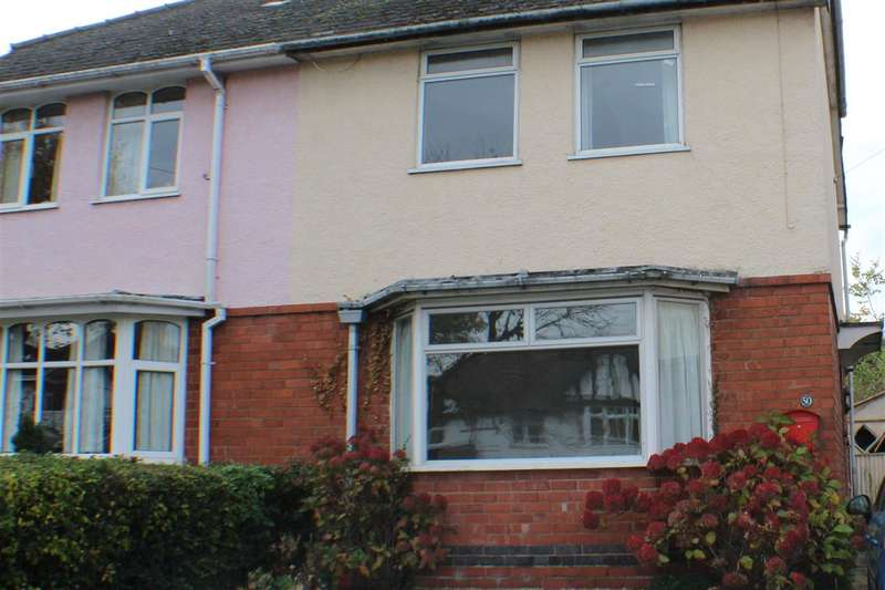3 Bedrooms Semi Detached House for sale in Camphill Road, Worcester