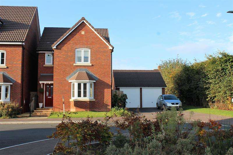 3 Bedrooms Detached House for sale in Beamhouse Drive, Ross-On-Wye