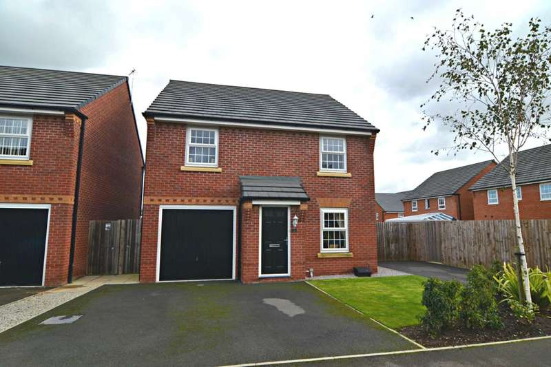 4 Bedrooms Detached House for sale in Cedar Gardens, Newton Le Willows