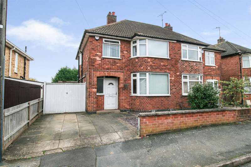 3 Bedrooms Semi Detached House for sale in Moorgate Avenue, Leicester