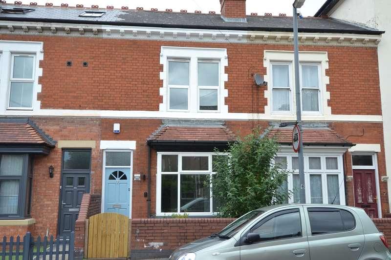 3 Bedrooms Terraced House for sale in Woodbridge Road, Moseley, Birmingham, B13
