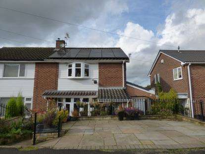 3 Bedrooms Semi Detached House for sale in Arnold Road, Gee Cross, Hyde, Greater Manchester