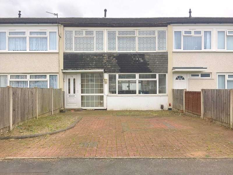 3 Bedrooms Terraced House for sale in JOHNSON ROAD, WEDNESBURY, WS10 0ES