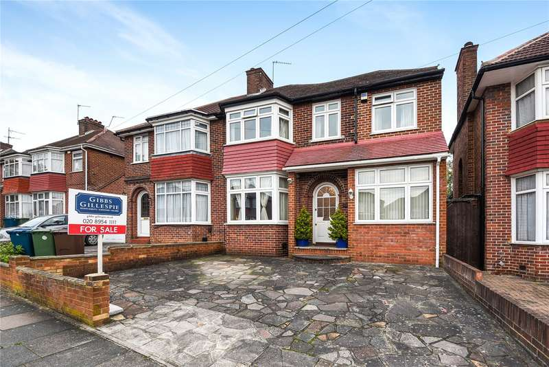 4 Bedrooms Semi Detached House for sale in St. Andrews Drive, Stanmore, Middlesex, HA7