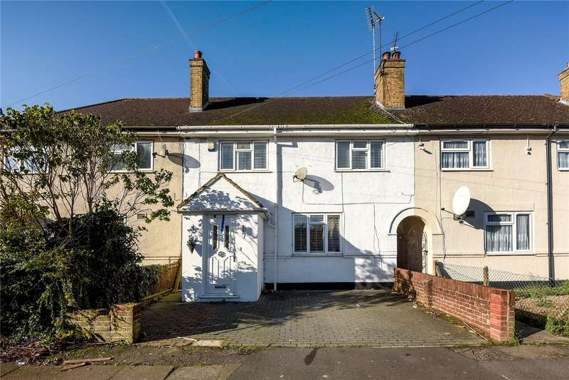 4 Bedrooms Terraced House for sale in Queens Road, West Drayton, Middlesex, UB7