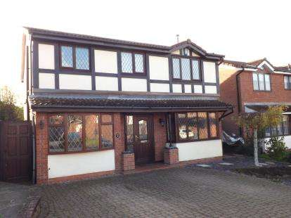 4 Bedrooms Detached House for sale in Barley Croft, West Bridgford, Nottingham, Nottinghamshire