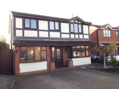 4 Bedrooms Detached House for sale in Barley Croft, West Bridgford, Nottingham, Nottinghamshire