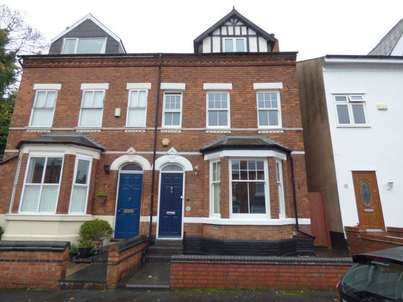 4 Bedrooms Semi Detached House for sale in Clarence Road, Harborne, Birmingham, B17 9LG