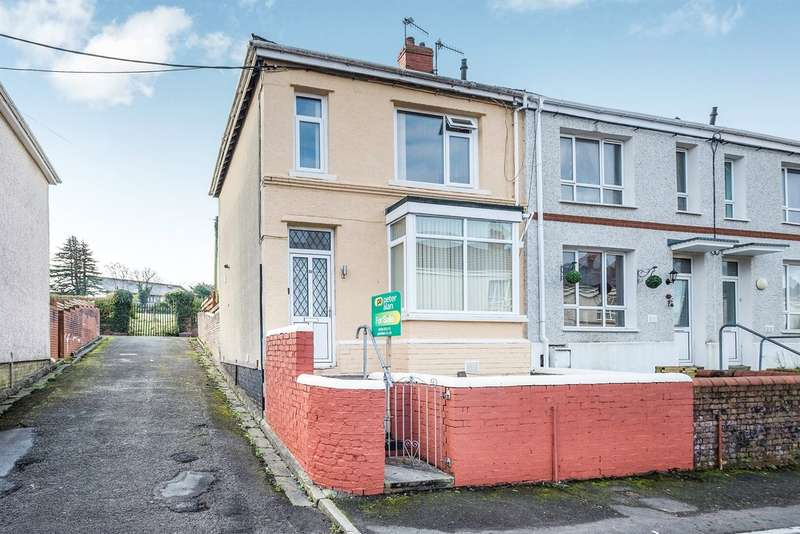 3 Bedrooms End Of Terrace House for sale in Wallace Road, Neath