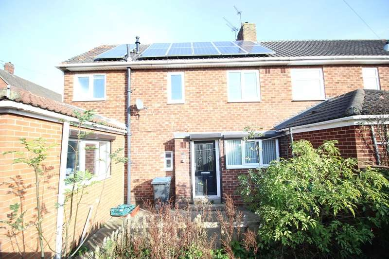 3 Bedrooms Semi Detached House for sale in Pennine Gardens, Stanley, DH9